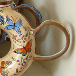 part of the first collection of teapots